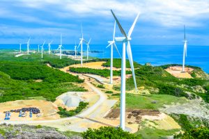 Energy Development Corporation's wind farm in Burgos, Ilocos Norte